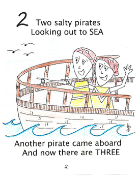 10 Little Pirates-a Counting Rhyme