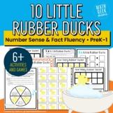 10 Little Rubber Ducks Math Collection | Grades PreK-1