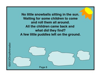 10 Little Snowballs- A counting by 2 Flipbook