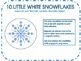 10 Little Snowflakes Songs, Number Flashcards and 10 Props