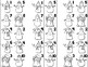 10 Little Snowmen -- Snowman Number Order Craftivity -- Numbers 1-10 and 10-100