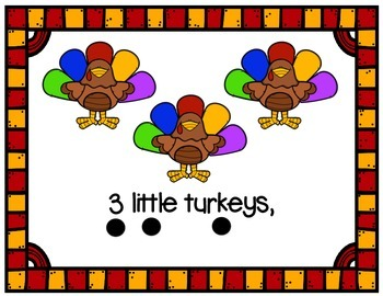 Ten Little Turkeys Book