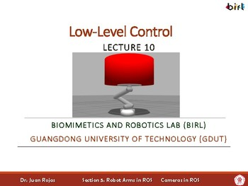 10. Low-Level Control