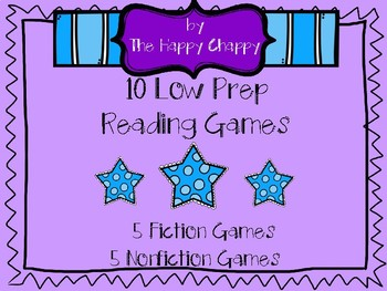 10 Low Prep Reading Games for Fiction and Nonfiction
