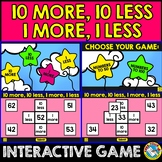 10 MORE 10 LESS GAME (HUNDREDS CHART ACTIVITY PUZZLE DIGITAL)