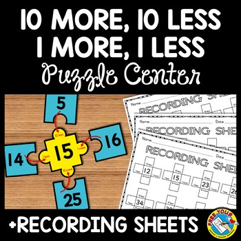 HUNDREDS CHART ACTIVITY FIRST GRADE (10 MORE 10 LESS DISTANCE LEARNING MATH GAME