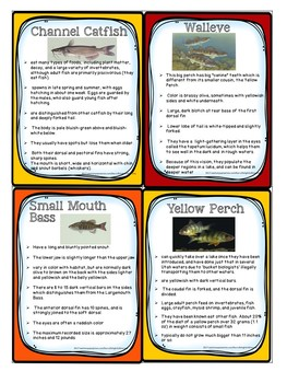 10 Main Utah Fish Powerpoint and Supplement