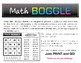 10 Math BOGGLE Boards (plus 1 FREE blank Board!) - Multiplication & Division