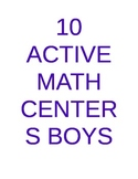 10 Math Centers Boys Will Love
