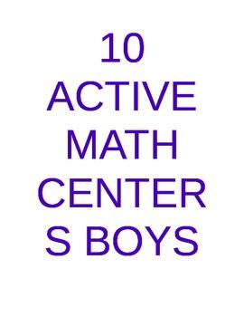10 Math Centers Boys Will Love