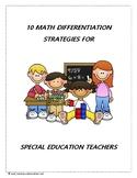 10 Math Differentiation Strategies