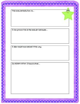 10 Math Problem Based Assessments Word Problem Tasks