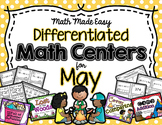 10 May Math Centers with Differentiation