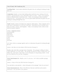 10 Minilessons - Narrative Nonfiction Reading Unit - TC Format