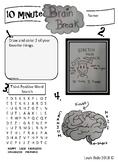 10 Minute Brain Break