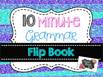 10 Minute Grammar Flip Book