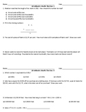 10 Minute Math Reviews 1-10