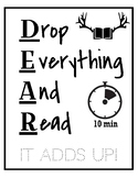 10 Minute Reading Sign
