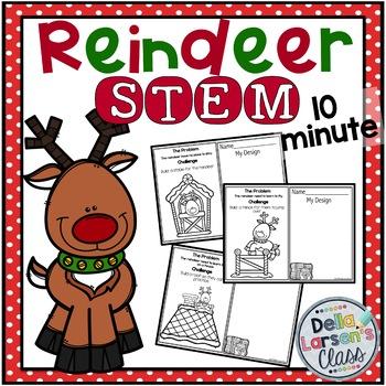 10 Minute STEM - Reindeer