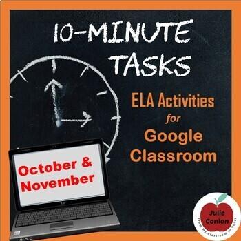 10-Minute Tasks: Fall (October - November)