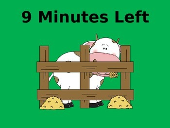 10 Minute Timer (Farm Theme)
