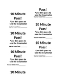 10 Minutes hot pass