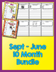 10 Month Bundle - Daily Journal Writing - NO PREP (Sept-June)