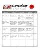 10 Months Homework Calendars