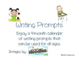 10 Months of Writing Prompts