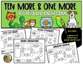 10 More & 1 More {Independent Math Game} for First Grade