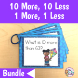 10 More 10 Less 1 More 1 Less Bundle