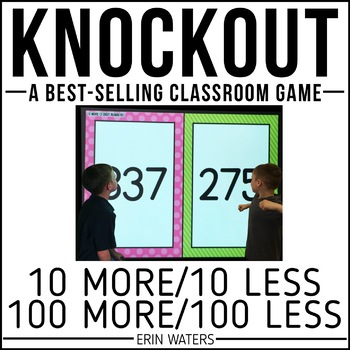 10 More, 10 Less, 100 More, 100 Less | KNOCKOUT | Distance Learning