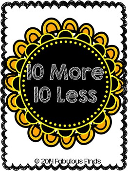 10 More 10 Less