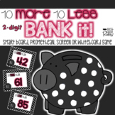 10 More 10 Less 2-Digit Bank It Projectable Game