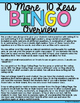 10 More, 10 Less Bingo-Add & Subtract 10 to & from Double-