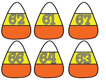10 More, 10 Less Candy Corn