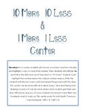 10 More/10 Less Center Activity