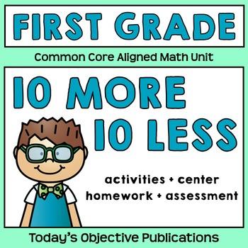 10 More 10 Less Common Core Unit