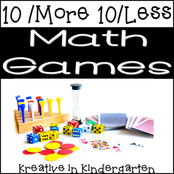 10 More 10 Less Math Games