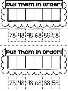 10 More & 10 Less { Mini Math Book }