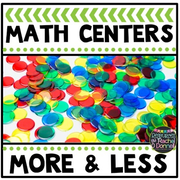 Math Center 10 More 10 Less - On My Own