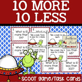 10 More 10 Less Math Scoot Game