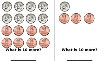 10 More 10 Less With Money