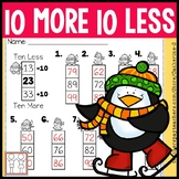Ten More Ten Less Worksheets