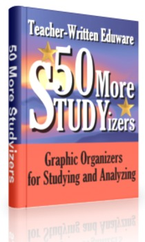 10 More STUDYizers (Graphic Organizers for Studying and Analyzing)
