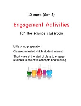 10 More Simple Yet Great Short Science Activities (Set 2)