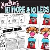 10 More 10 Less Activities & PowerPoint