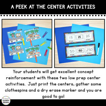 10 More and 10 Less and 100 More and 100 Less Mini Math Assessments-Common Core