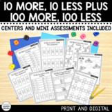 10 More 10 Less & 100 More 100 Less - PRINT & DIGITAL
