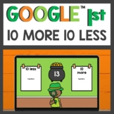 10 More and 10 Less Practice for Google Classroom™ for Dis